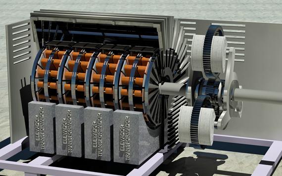 Technokontrol Tk Orion Advanced Magnetic Generator Power Plant