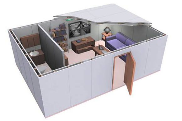 TechnoKontrol Home Office Panic Rooms Bunkers