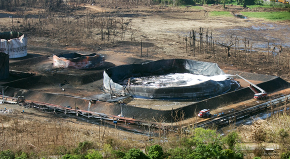 Technokontrol Anti Explosion Fuel Tank Floating Roof System